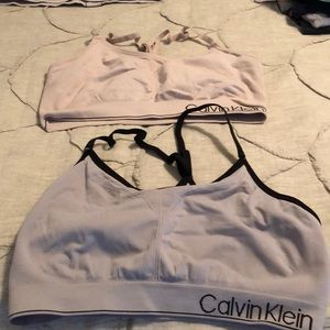 2 Calvin Klein bras